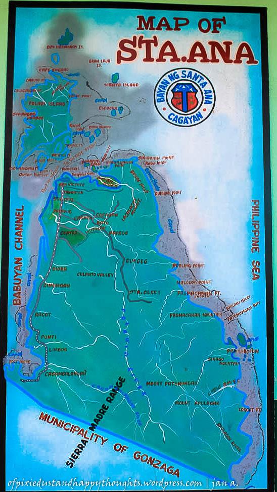 Palaui island cagayan map