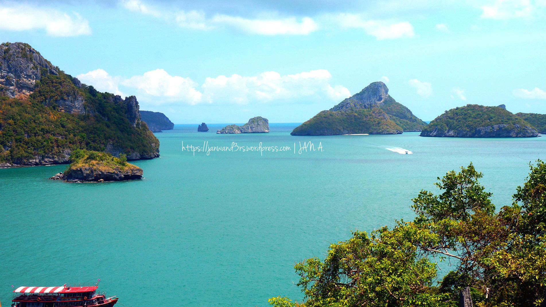 Koh Samui , Thailand: Ang Thong National Marine Park Tour – janwand3rs